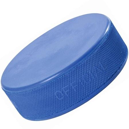 Blauer Eishockey Puck für Kinder