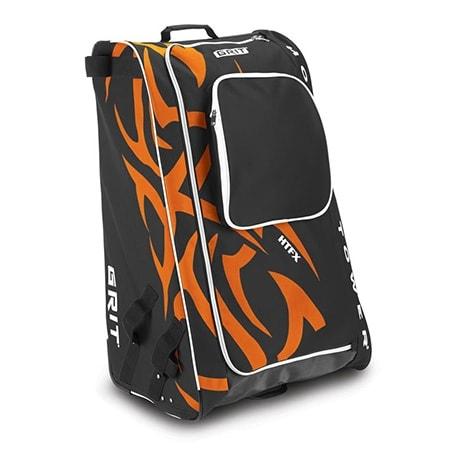 Grit Eishockeytasche in orange-schwarz