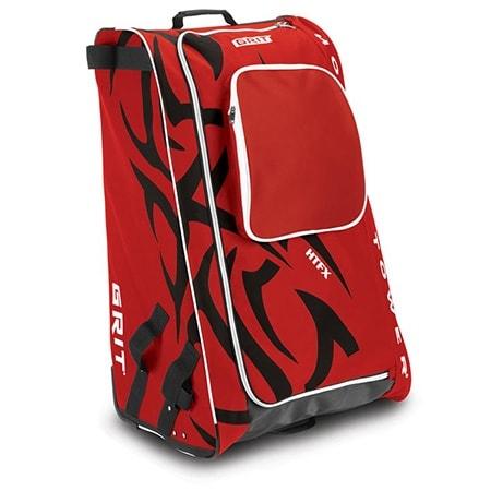 Rot-schwarze Eishockeytasche von Grit für Kinder