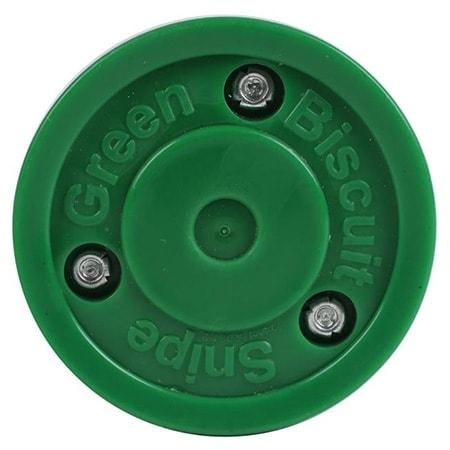 Green Biscuit Snipe Puck
