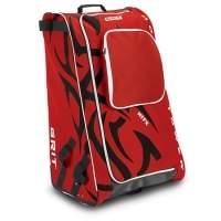 Bild zu Produkt - Eishockeytasche Grit HTFX Junior in rot & schwarz