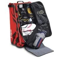 Eishockeytasche Grit HTFX Junior in rot & schwarz